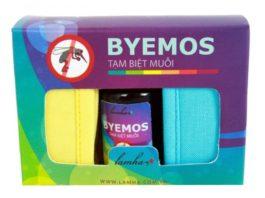 Bộ sản phẩm tinh dầu đuỗi muỗi BYEMOS