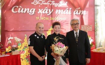 NTK Sỹ Hoàng hội ngộ doanh nhân Dương Quốc Nam, MC Quỳnh Hoa tại Lễ trao tặng sách