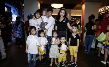 Dàn sao Việt cùng con đến dự buổi công chiếu Anh em siêu quậy