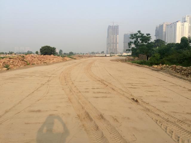 Đường Võ Chí Công Phạm Văn Đồng sắp hoàn thiện điểm nhấn mới của khu vực tây Hồ Tây 1