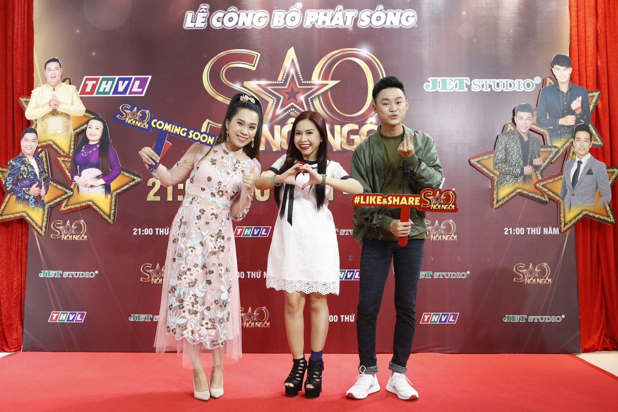 Ca si Hong Phuong, NS Binh Tinh, NS Le Nguyen Truong Giang