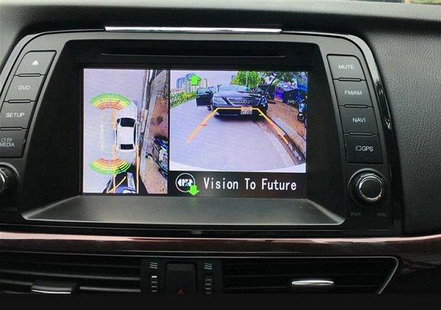 Camera 360 ô tô giúp người điều khiển xe hạn chế những va chạm không đáng có